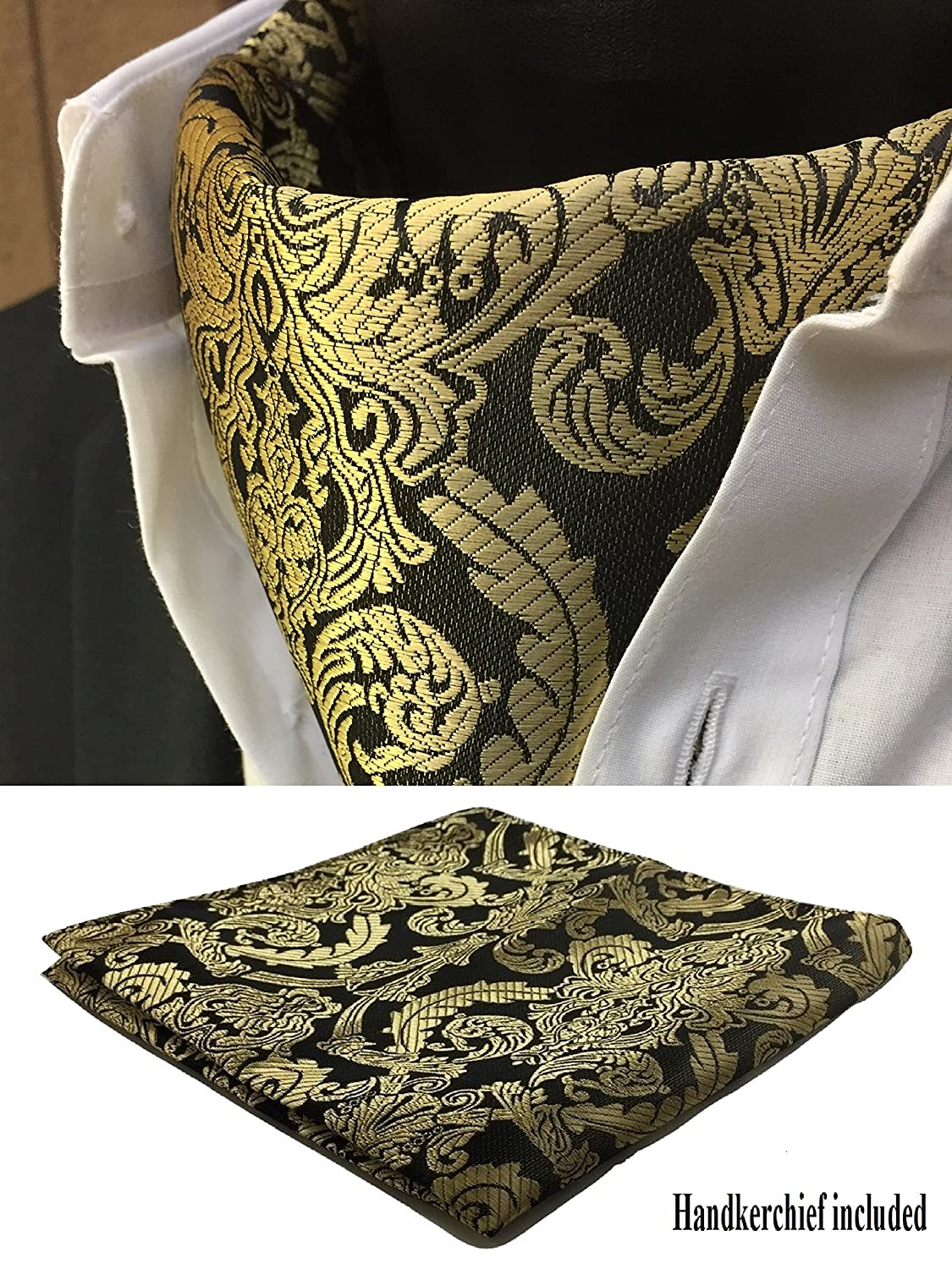 Mens Dupioni Cravat in Custom Colors by Dessy