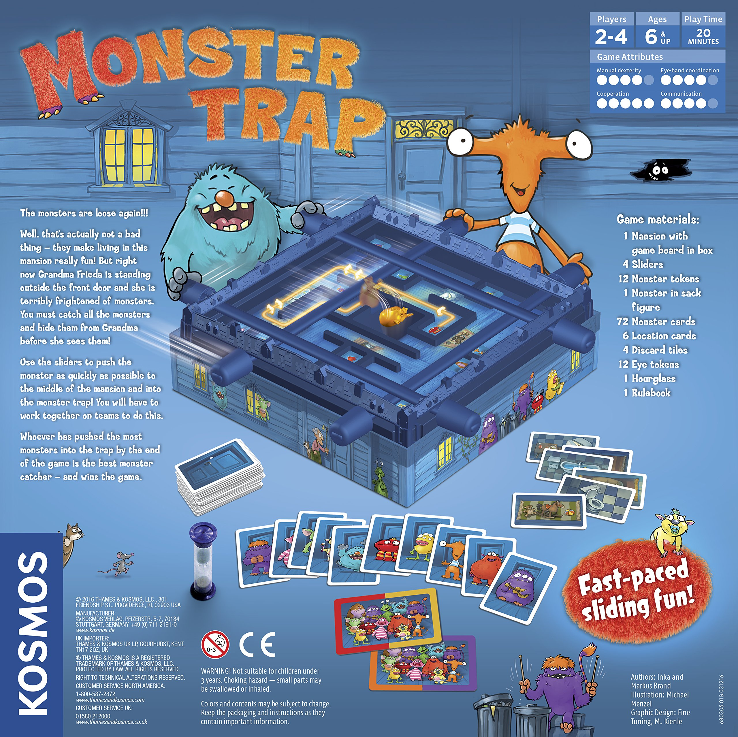 Thames & Kosmos Monster Trap Game