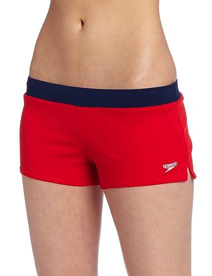 cb91f30531654 Amazon.com  Speedo Women s Guard Endurance Lite Swim Short  Sports ...