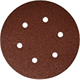 Bosch SR6R062 25-Piece 60 Grit 6 In. 6 Hole Hook-And-Loop Sanding Discs