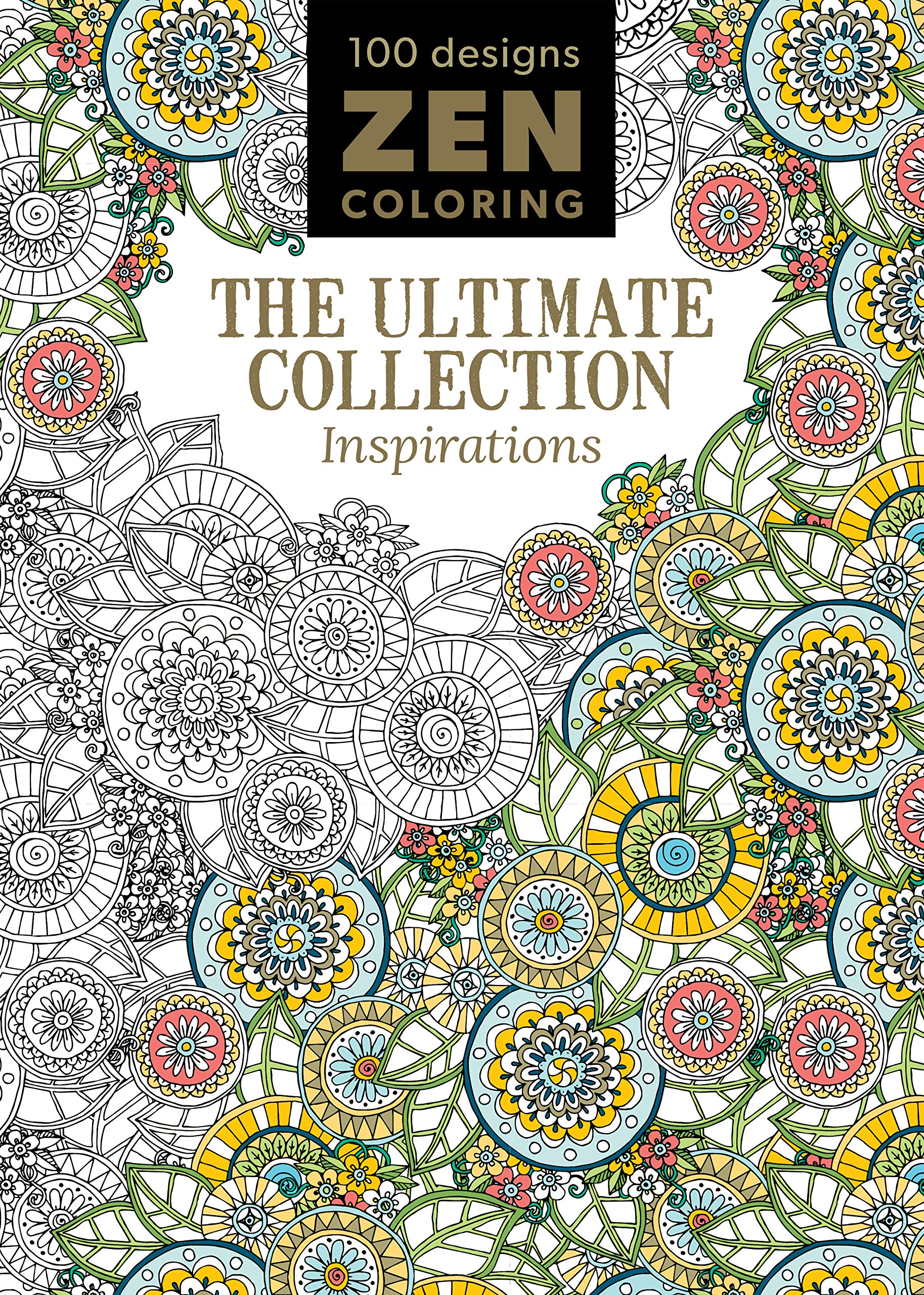 Download Zen Coloring - The Ultimate Collection Inspirations ebook