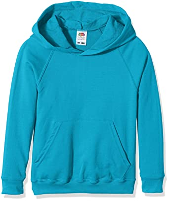 Amazon.com: Fruit of the Loom Kids Lighweight Hooded Sweatshirt - 11 Colours/Age 5-15 Year: Clothing