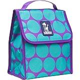 Wildkin Big Dot Aqua Munch 'n Lunch Bag