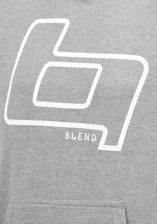 BLEND Vinto White Sudaderas con capucha para Hombre