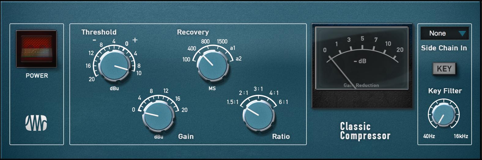 (PreSonus Classic Compressor Fat Channel Plug-in [Online Code])