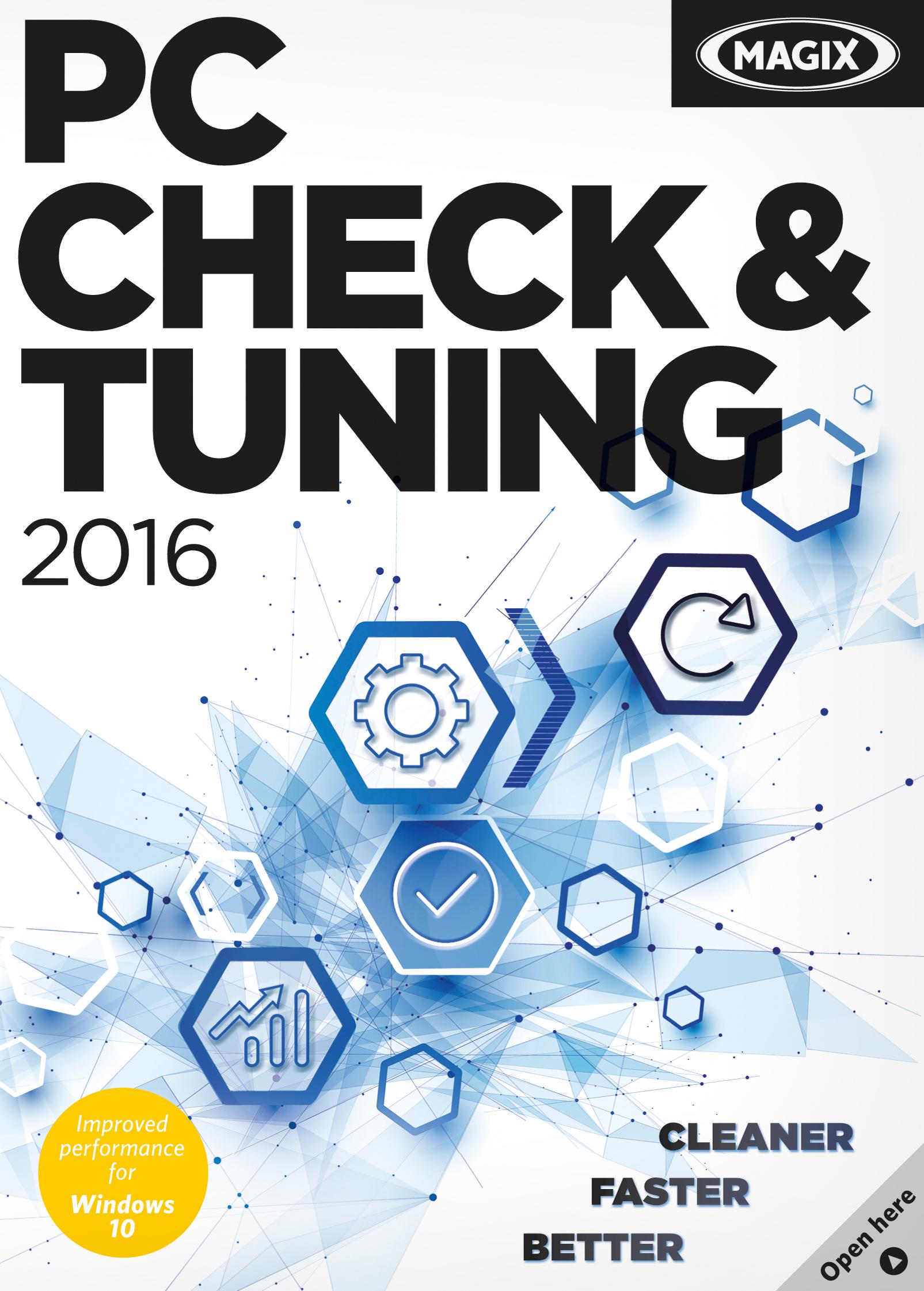 MAGIX PC Check & Tuning 2016 [Download] by MAGIX