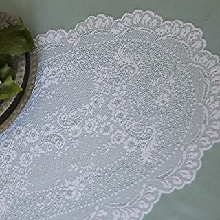 """product image for Heritage Lace Floret Placemat, 14"""" x 20"""", White"""