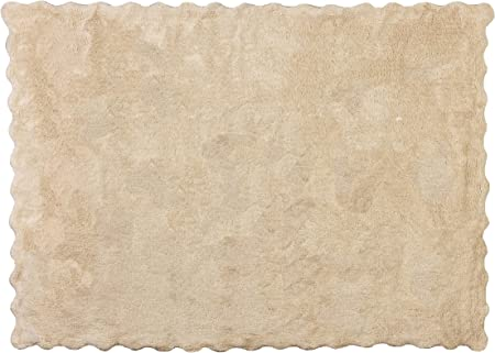 Aratextil Lisa Alfombra Infantil, Algodón, Beige, 120 x 160 cm: Amazon.es: Hogar