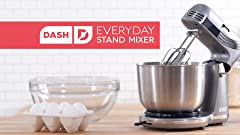 Amazon.com: Dash Stand Mixer (Electric Mixer for Everyday ...