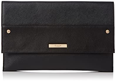 0e79d0274357 Dune Womens Elvina Clutch Black-Plain  Amazon.co.uk  Shoes   Bags