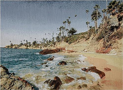 ARTISTRY Photorealism Jacquard Wall D cor Panel Laguna Beach