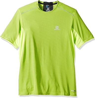 SALOMON Trail Runner SS M - Camiseta de Manga Corta Hombre: Amazon.es: Ropa y accesorios
