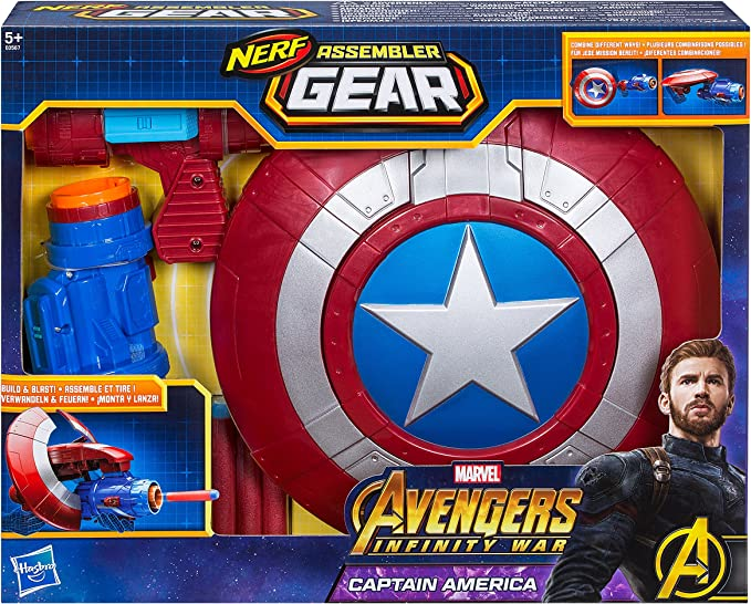 Marvel Avengers- Assembler Gear Capitán América, Talla única ...