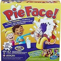 Jogo Hasbrogaming Pie Face Reação em Cadeia Hasbro Amarelo/Roxo
