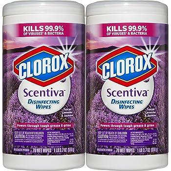 amazon com clorox scentiva disinfecting wipes value pack tuscan