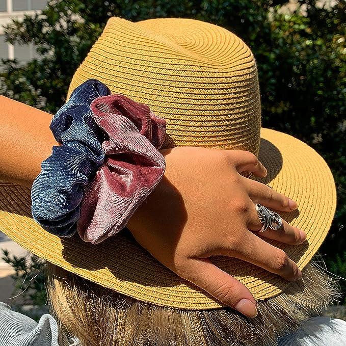 Big xuxinhas Too Cute To Kill hairtie scrunchie accessoires hip trendy pink purple pastel velvet 90s handmade made in the Netherlands