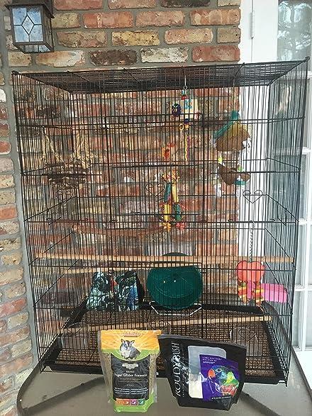 new large bird cage cockatiel sugar glider finch parakeet x