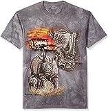 The Mountain Unisex Adult Rhinos Animal T Shirt