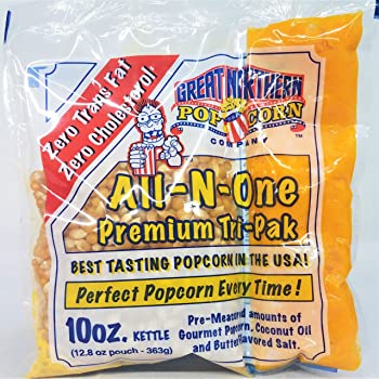 Great Northern Popcorn Premium All-N-One Popcorn Kernel