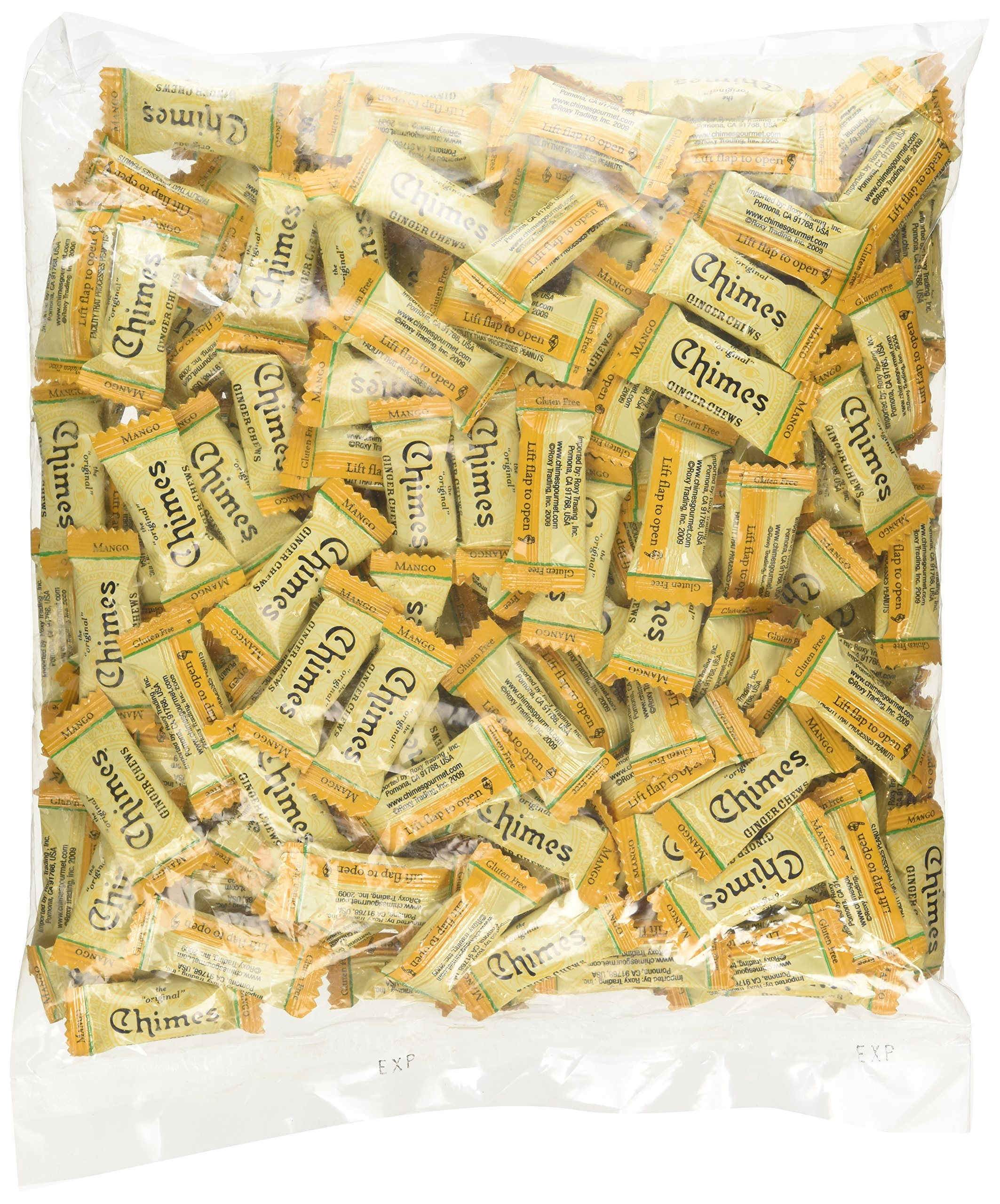 Chimes Mango Ginger Chews, 2-pound Bag by Chimes (Image #3)