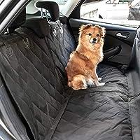 Heldenwerk® Autoschondecke Hund Rücksitz - Hundedecke für die Auto Rückbank wasserdicht - Schutz Autodecke für Hunde mit Seitenschutz zum Hundetransport