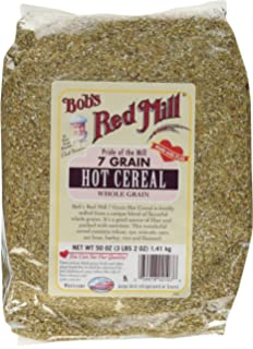 Amazon bobs red mill 7 grain hot cereal 50 ounce grocery bobs red mill 7 grain hot cereal 50 oz ccuart Choice Image