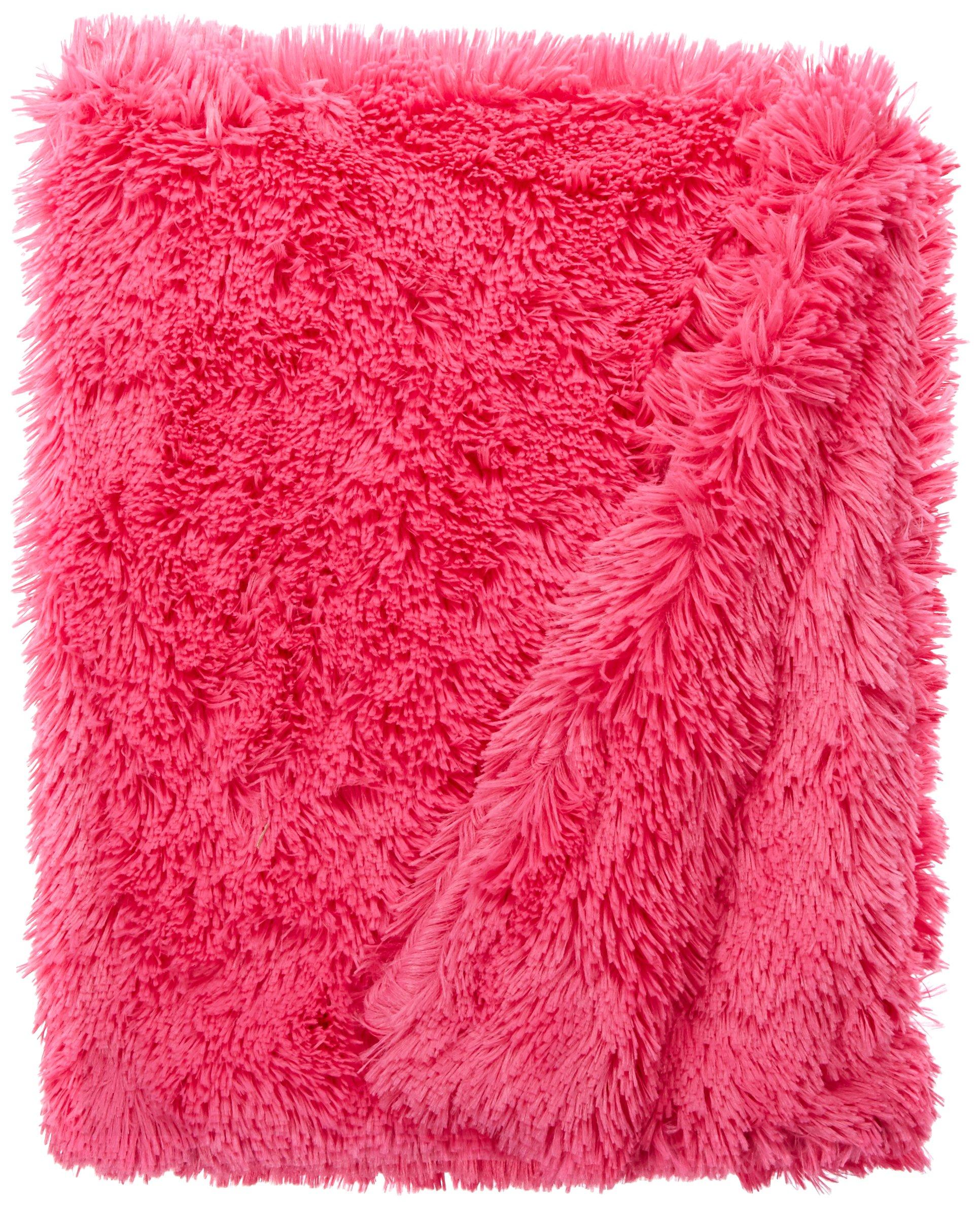 BESSIE AND BARNIE Lollipop Luxury Shag Ultra Plush Faux Fur Pet, Dog, Cat, Puppy Super Soft Reversible Blanket (Multiple Sizes)
