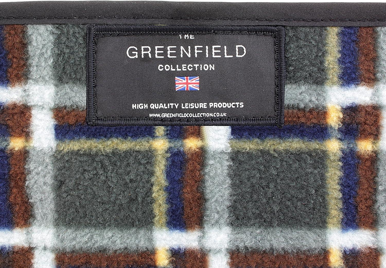 Greenfield Collection Vert For/êt Sac /à dos de pique-nique Super Deluxe pour 2 personnes avec plaid assorti