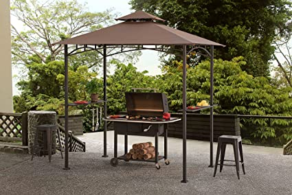 Charmant Sunjoy Grill Gazebo For Backyard Bbq
