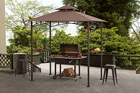 Sunjoy Grill Gazebo For Backyard Bbq