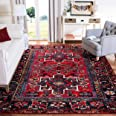Safavieh Vintage Hamadan Collection VTH211A Oriental Traditional Persian Non-Shedding Stain Resistant Living Room Bedroom Are