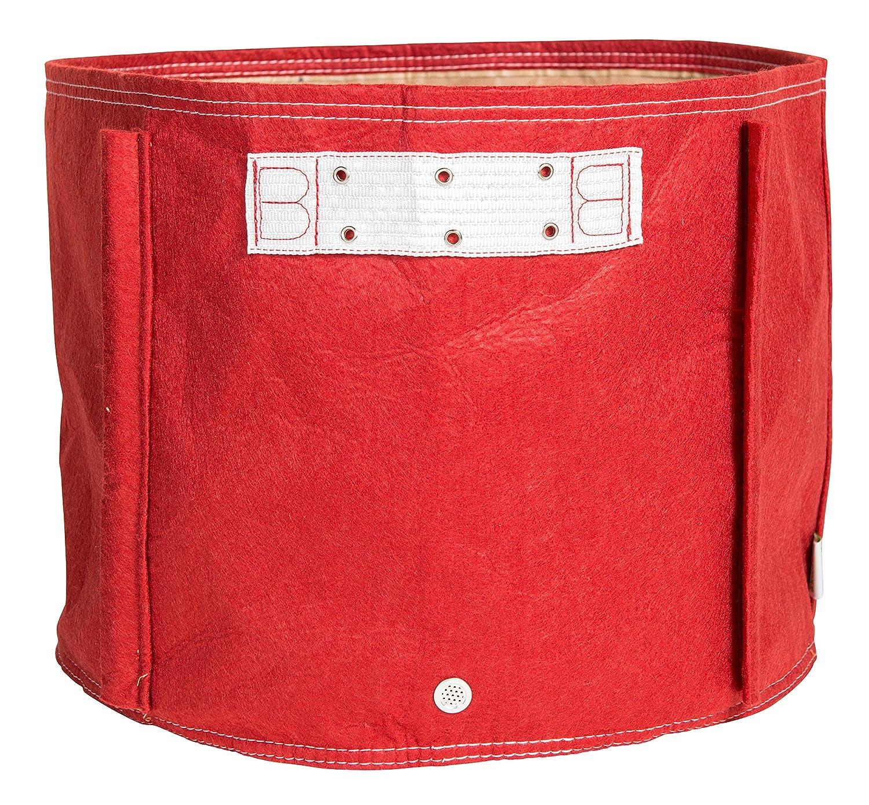 Bloem TOM-12 Tomato Fabric Planter Bag, 15 Gallon, Union Red, 15 gal