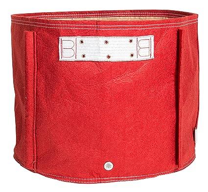 b1322f8726a0 Bloem TOM-12 Tomato Fabric Planter Bag, 15 Gallon, Union Red, 15 gal