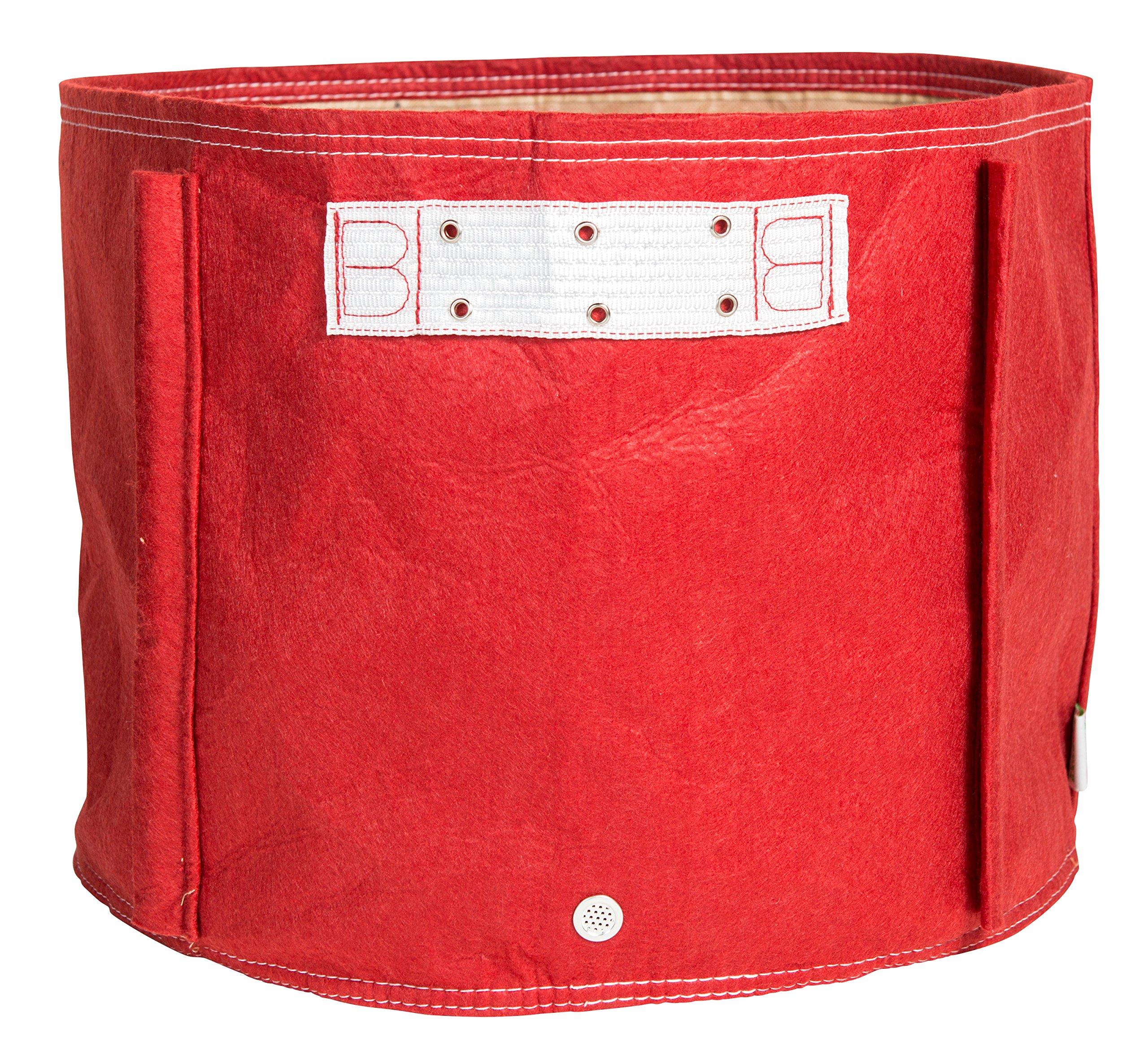 Bloem Tomato Fabric Planter Bag, 15 gallon, Union Red by Bloem