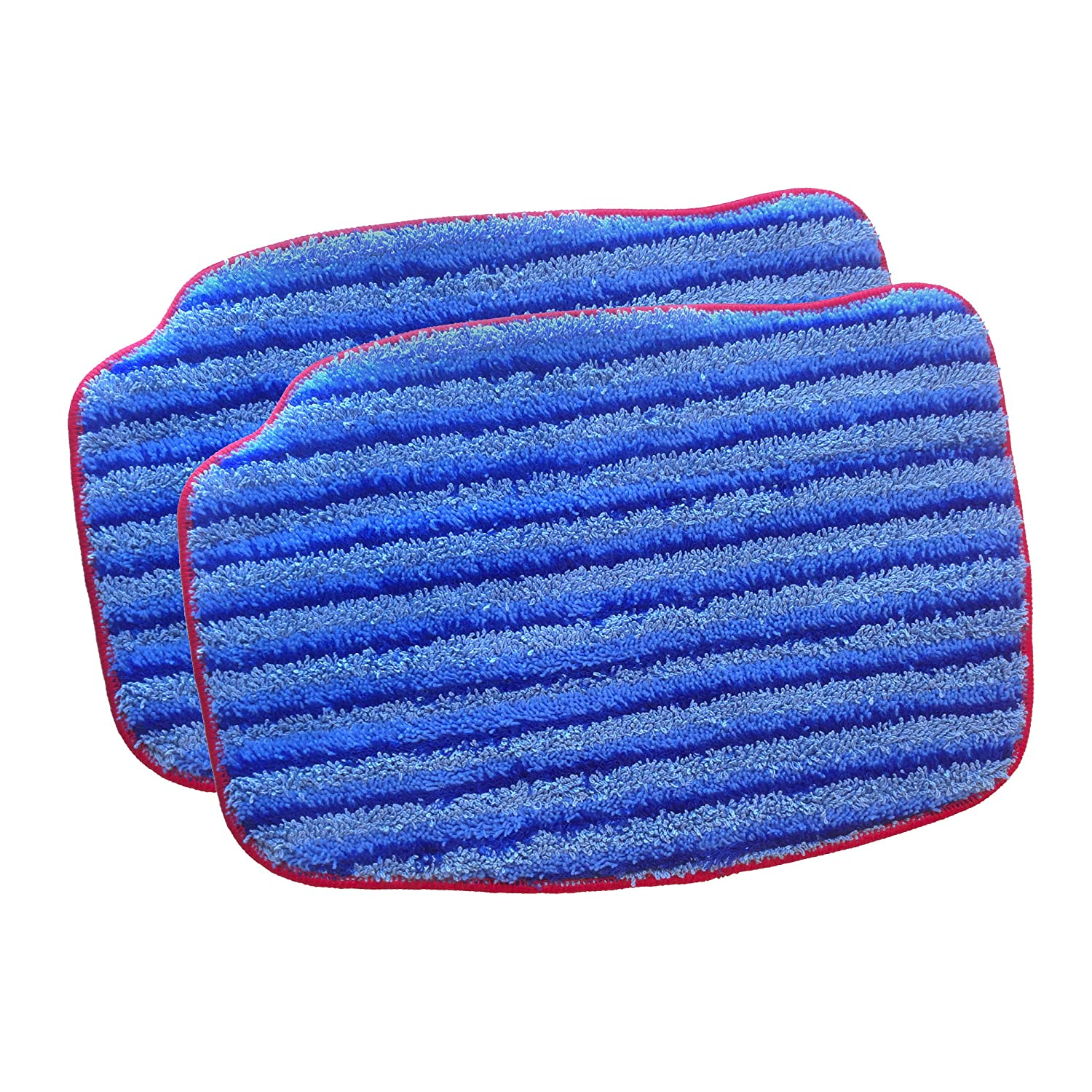 McCulloch A1375-101 Replacement Scrubbing Microfiber Mop Pad for MC1375, MC1385, 2-Pack Vornado Air