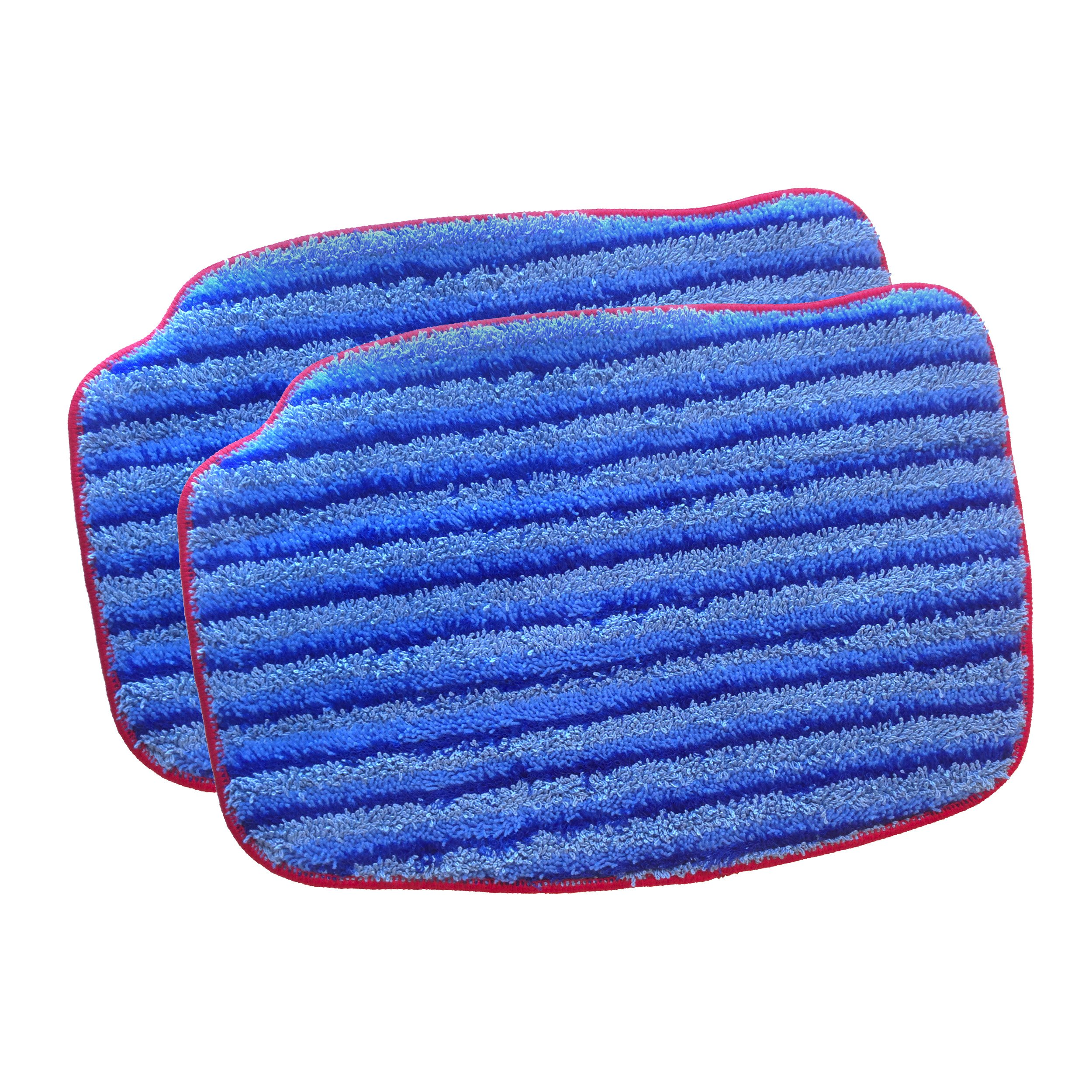 McCulloch A1375-101 Replacement Scrubbing Microfiber Mop Pad for MC1375, MC1385, 2-Pack by McCulloch