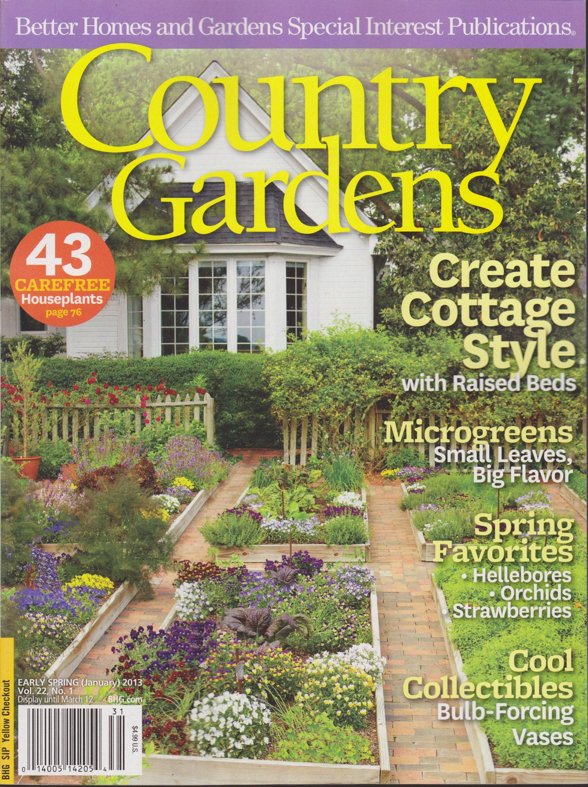 nobby design southern homes and gardens magazine. Country Gardens Magazine Early Spring 2013  Create Cottage Style Unusual Better Homes And Photos Beautiful Garden