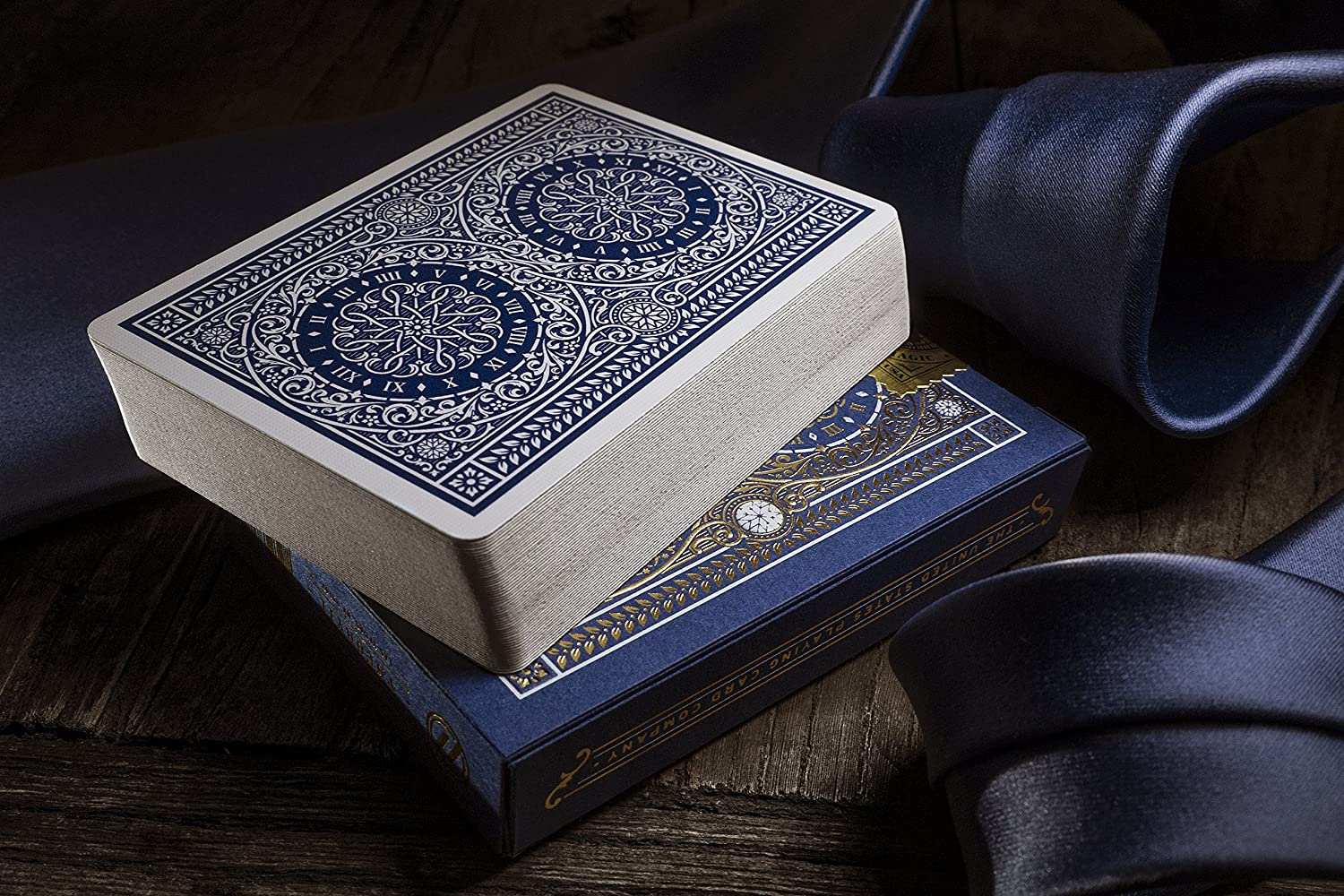 Blue Tycoon Playing Cards Theory 11 TYCOONBLUE