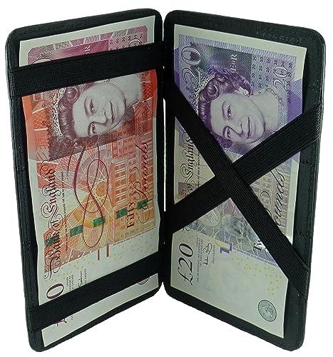 Quality Soft Cowhide Leather Magic Flip Milkman/Puzzle Money Wallet