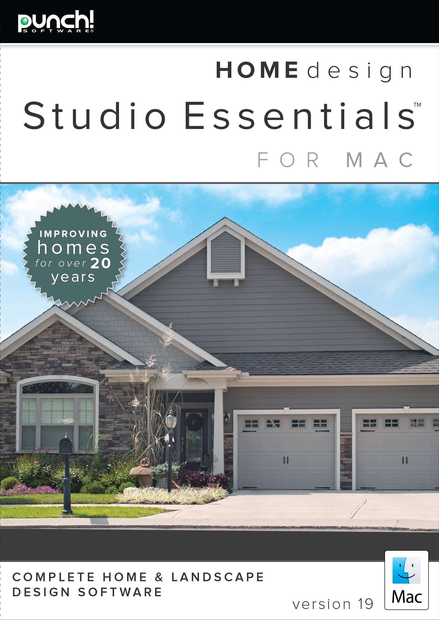 Punch! Home Design Essentials for Mac v19 [Download] by Encore