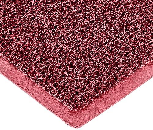 Durable DuraLoop Indoor Outdoor Entrance Mat, 4 x 6 , Red