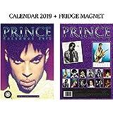 Prince Calendar 2019 + Prince Fridge Magnet