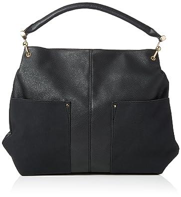 c3bb6c1e99c5 New Look Womens Hally Slouchy Shoulder Bag Black (Black)