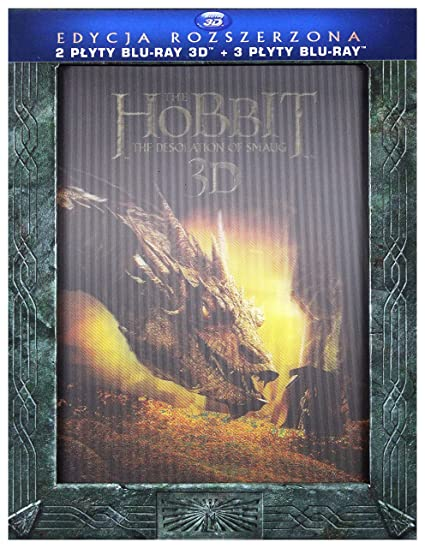 Hobbit: The Desolation of Smaug Extended Edition BOX 3Blu-Ray + ...