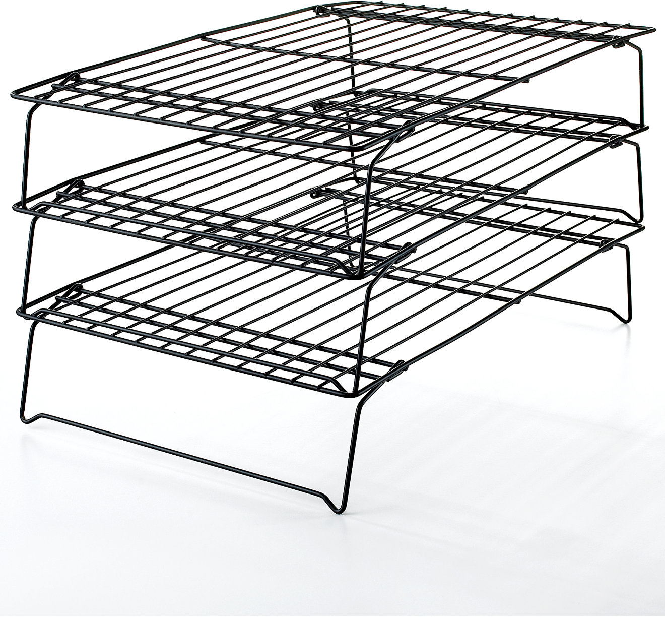 White apron macy's - Wilton 3 Tier Nonstick Cooling Rack Bakeware Kitchen Macy S Bridal And Wedding Registry