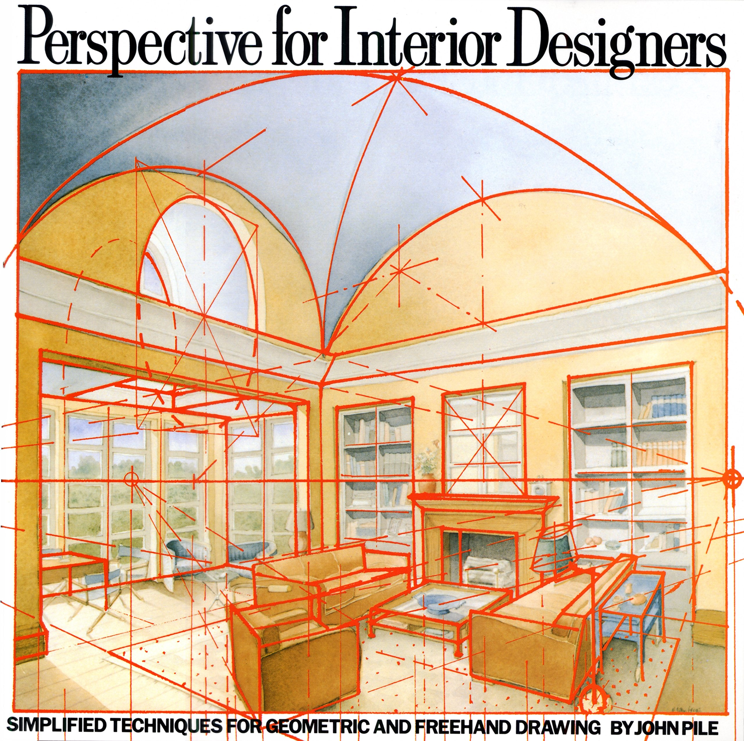 Amazon.com: Perspective For Interior Designers: Simplified Techniques For  Geometric And Freehand Drawing (9780823040087): John Pile: Books