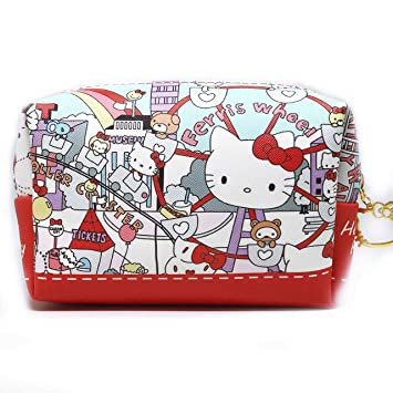 760919db29 Amazon.com   Hello Kitty Makeup Bag