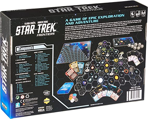 Juego Star Trek Frontiers , color/modelo surtido: Amazon.es: Juguetes y juegos