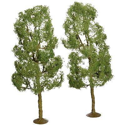 "Bachmann Trains - SCENE SCAPES - 8"" SYCAMORE TREES (2 per box) - O Scale: Toys & Games"