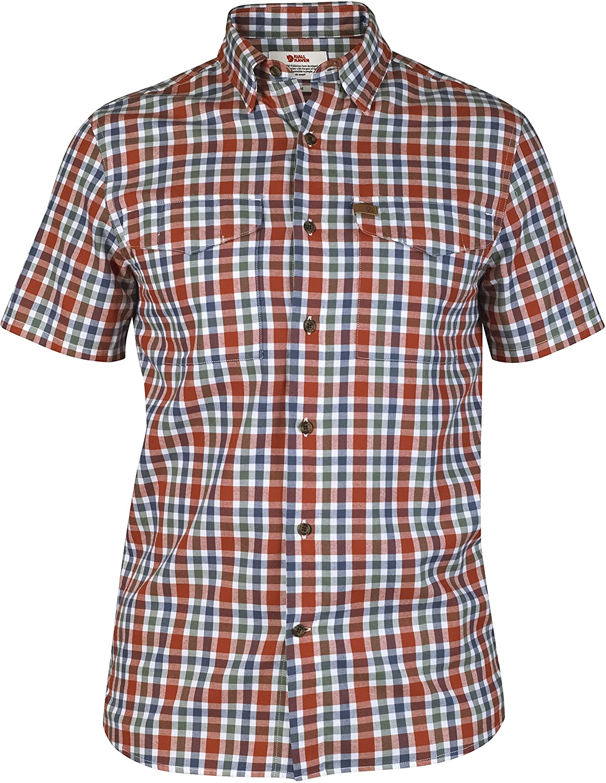 Fjällräven Övik Shirt SS Comfort Fit 83 rot
